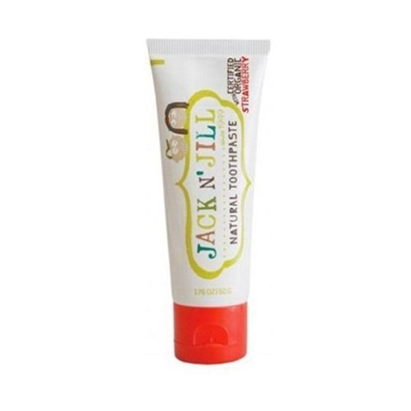 Jack & Jill  Natural Calendula Strawberry Toothpaste - Jack & Jill  Natural Calendula Strawberry Toothpaste50g